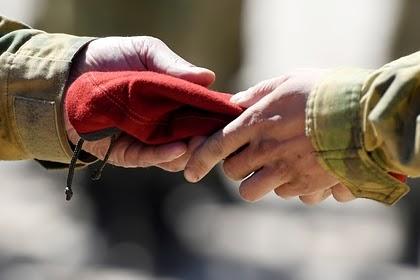 Росгвардия опровергла намерение спецназовцев снять краповые береты