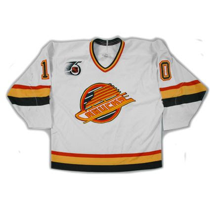 Vancouver Canucks 91-92 jersey