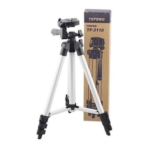 CP BIGBASKET - 3110 Tripod with Mobile Clip Holder Bracket,With Mobile stand
