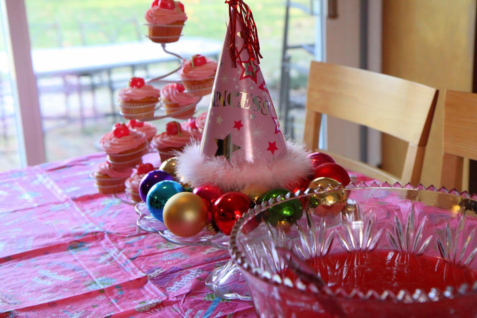 Birthday Party Ideas Xmas Birthday Party Ideas