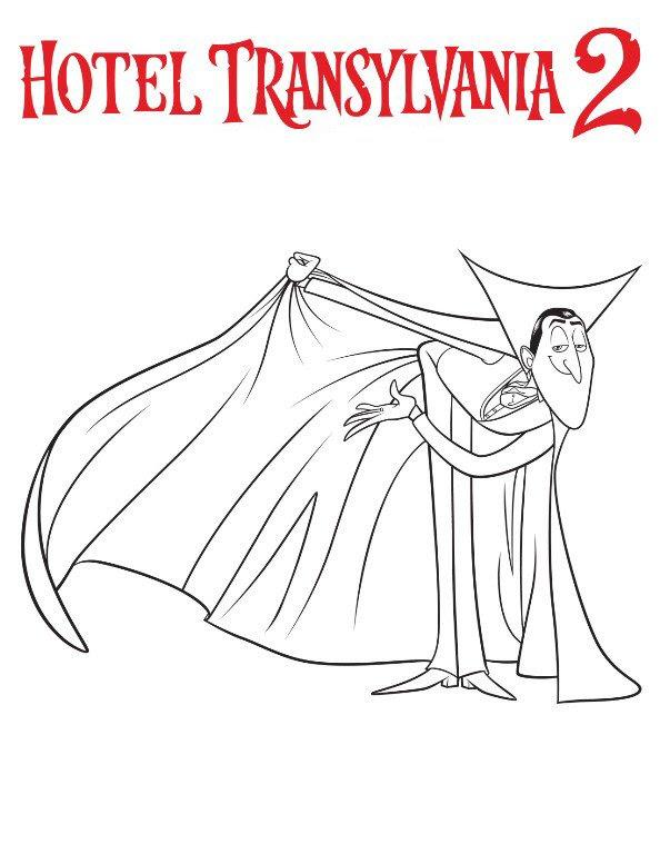 hotel transsilvanien ausmalbilder  ausmalbilder