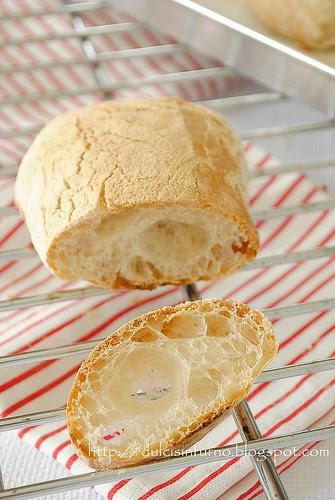 Ciabattine con Pasta Madre-Sourdough Ciabatta Rolls