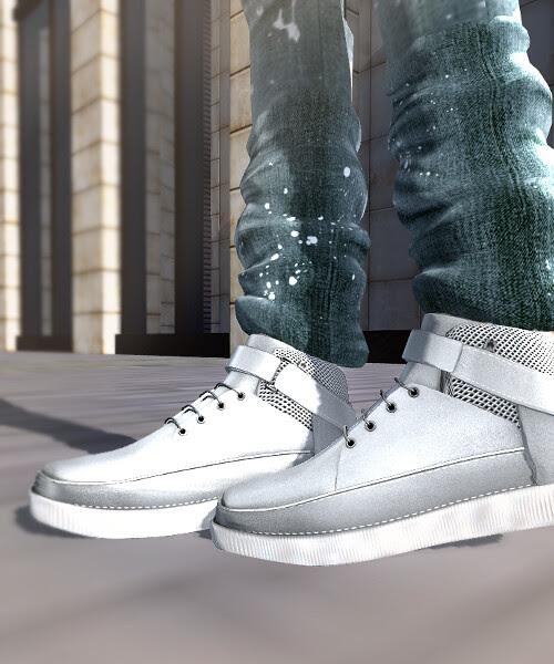 FIR Harrison Boots in White at Shoe Fair