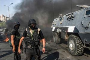 משטרת הפגנות בקהיר