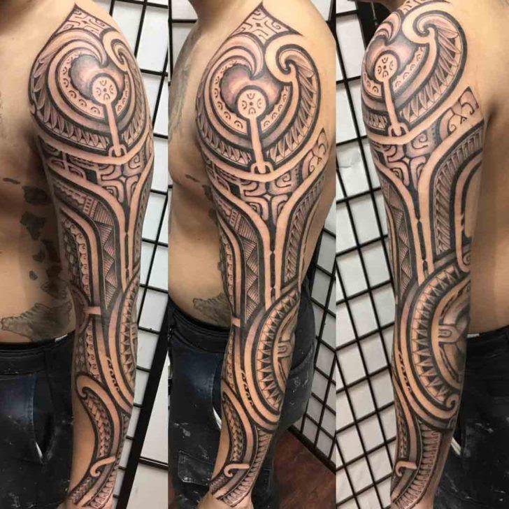 Polynesian Arm Sleeve Tattoo Best Tattoo Ideas Gallery