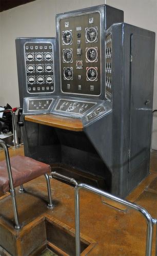 Painel de detonador nuclear soviético