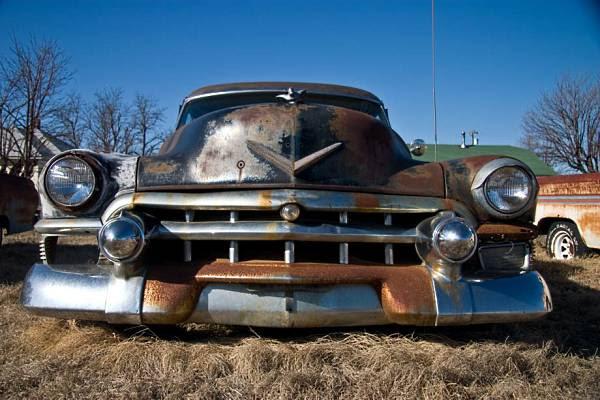 Route 66-velho Cadillac