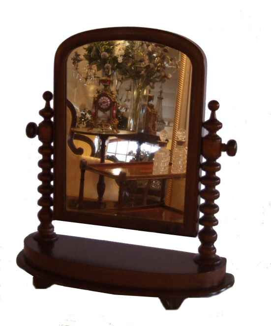 Victorian Mahogany Dressing Table Mirror From Harbour Antiques