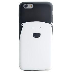 For Etui iPhone 6 / Etui iPhone 6 Plus IMD / Monster Etui Bakdeksel Etui Tegneserie Myk TPU AppleiPhone 6s Plus/6 Plus / iPhone 6s/6 /