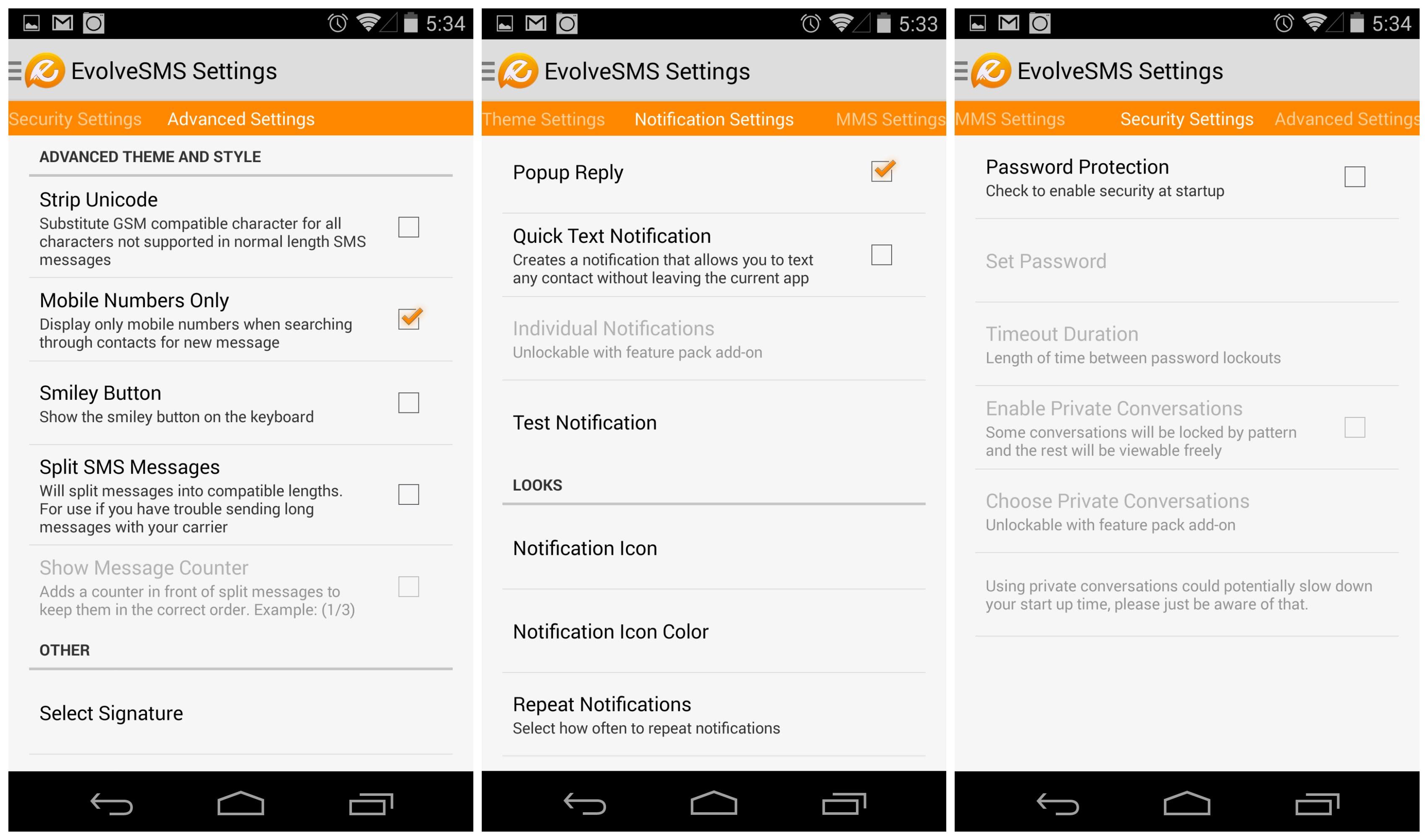 Aplikasi SMS Android