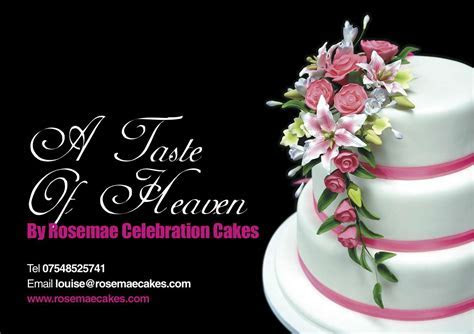 Fast Flyer Printing is used by Rosemae Cakes: Fast Flyer