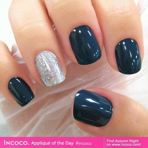 glitter and navy