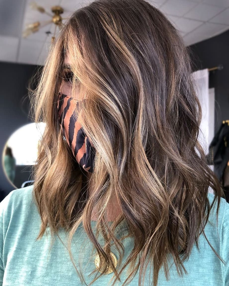 10 Medium Length Hairstyles and Color Switch-ups - Medium Haircut 2021