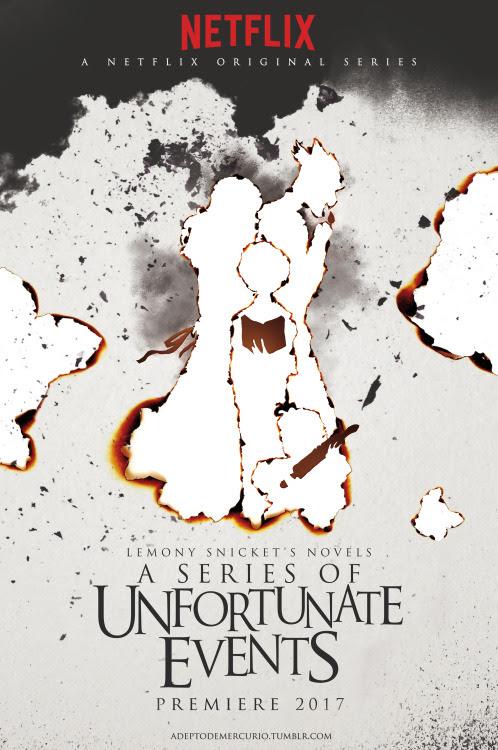 Resultado de imagem para A Series of Unfortunate Events series NETFLIX postera