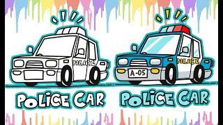 All Clip Of Mewarnai Mobil Polisi Bhclipcom