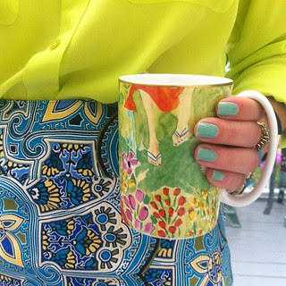 Coffee cup match day twenty-nine: brights!