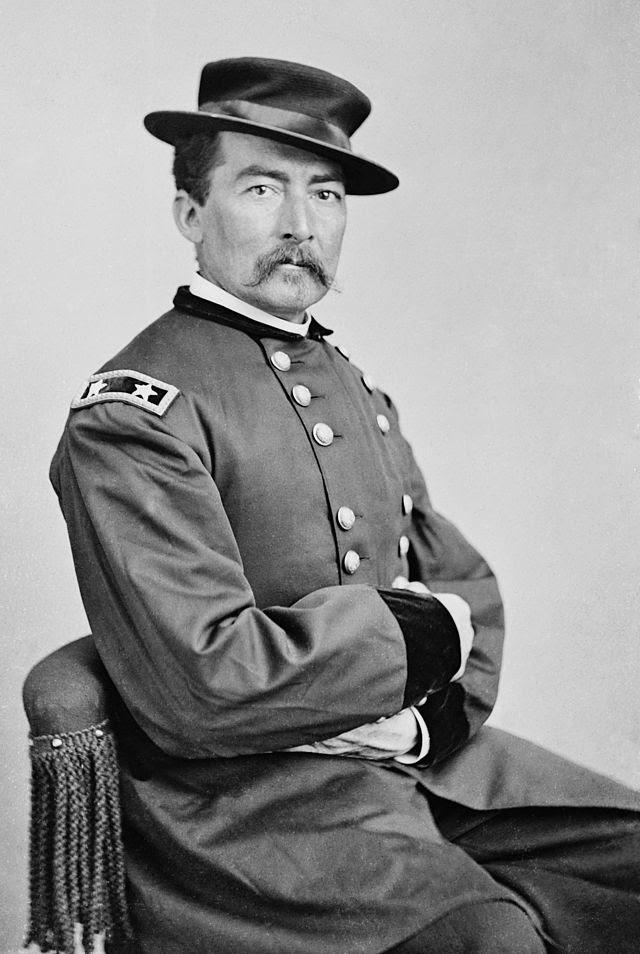 Le major-général Sheridan entre 1863 et 1865