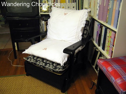 Before and After Wooden Arm Chair 12