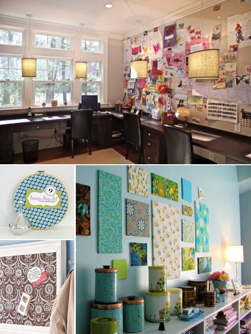 Inspiration Fabric Bulletin Boards Pepper Design Blog