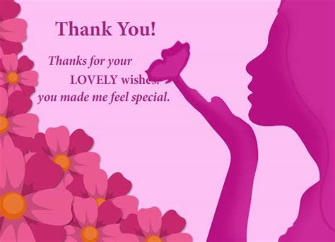You Made Me Feel Special! Free Thank You eCards, Greeting