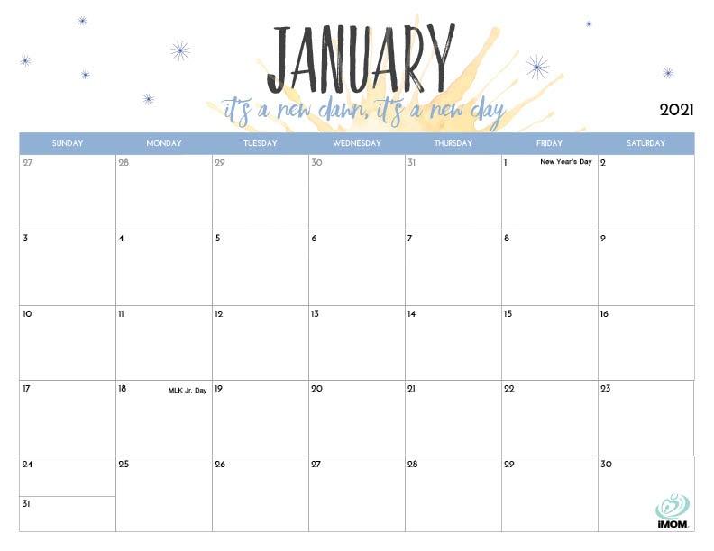 Free Printable Calendar 2021 Imom | Printable March