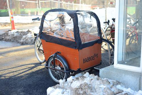 Babboe Cargo Bike, Cambridge MA