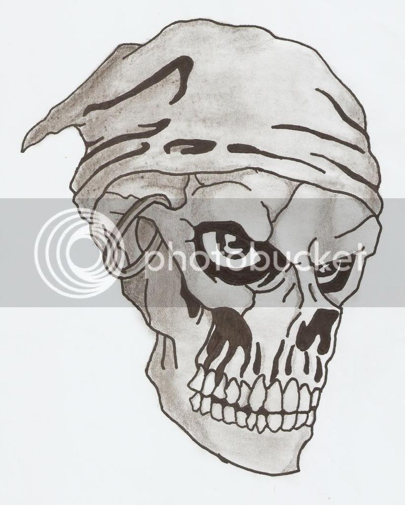 Dibujos A Lapiz De Calaveras Chidas Imagui