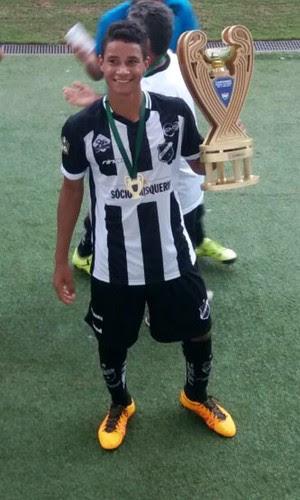 RN _ Wesley Lima Cruz - zagueiro - lateral-esquerdo - ABC (Foto: Arquivo Pessoal)
