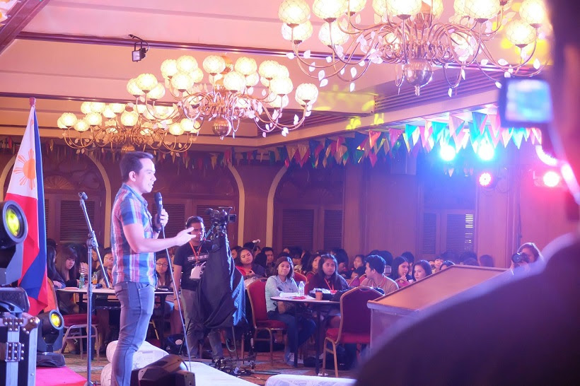 The VoiceMaster Speaks at UPMG Youth Print Media Congress