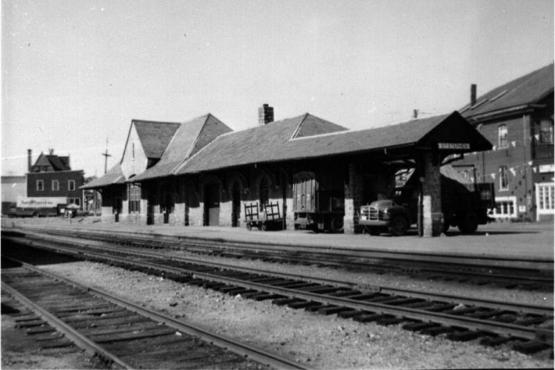 St. Stephen Railway Station, 1958, photographer unknown