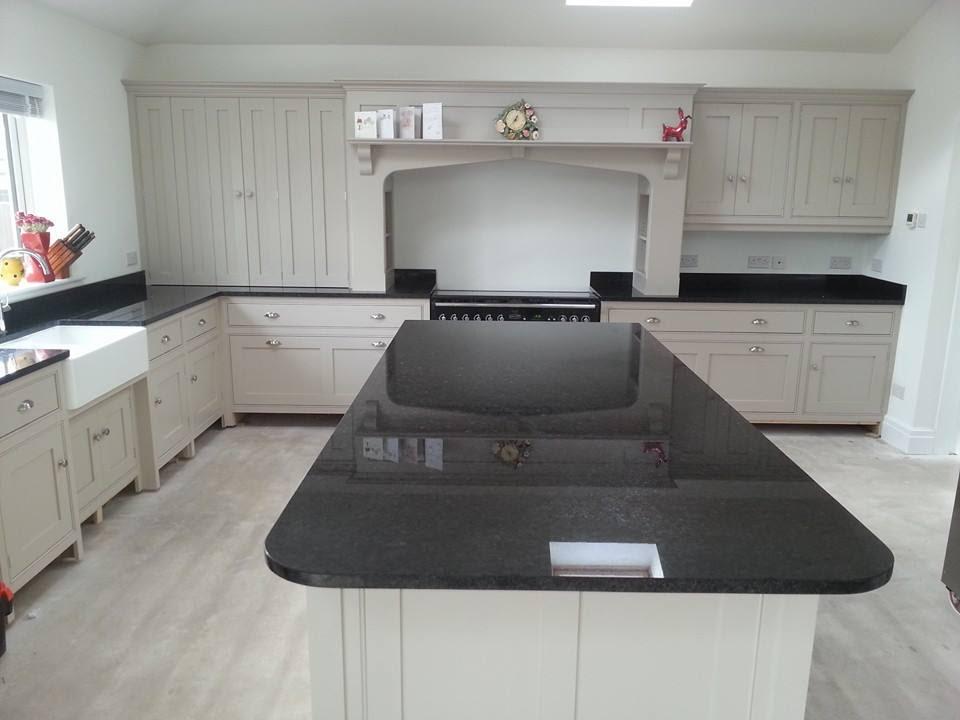 Design Ideas For Large Kitchens Granite Line