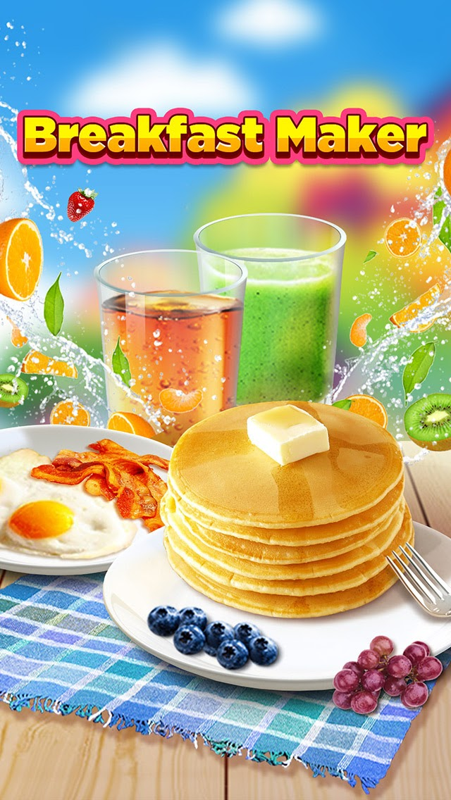 Breakfast Time Cooking Games