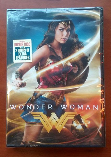 The WONDER WOMAN DVD that I bought at the local Target store.