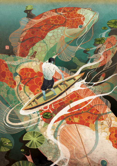 Tough Calls Victo Ngai Latest piece for Plansponsor magazine about the tension in choosing -one needs to give up something in order to gain. Big big thanks to AD SooJin!