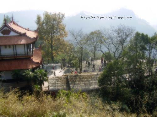 Pavillion on top of Tian You Peak