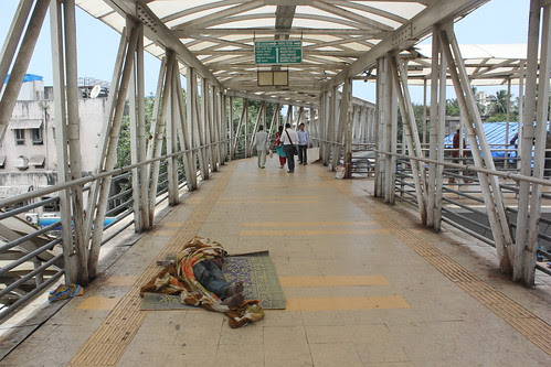 Welcome Mother Fuckers To The Bandra Skywalk,, Drug Addicts United by firoze shakir photographerno1