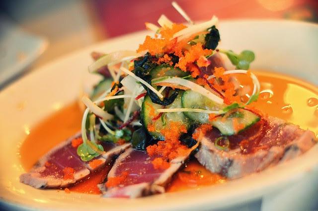 Seared Hawaiian Ahi salad