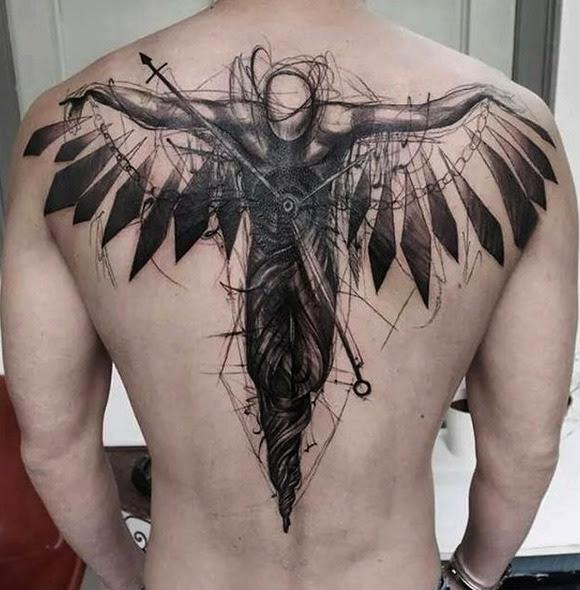 Tattoo En La Espalda Para Hombres Tattoo Design