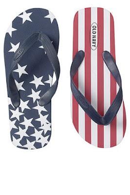 John McCain Official Old Navy Flip Flops