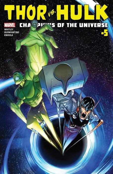 Thor vs. Hulk - Champions of the Universe #5