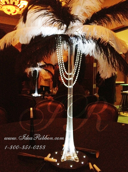 Holiday Christmas wedding centerpieces are a