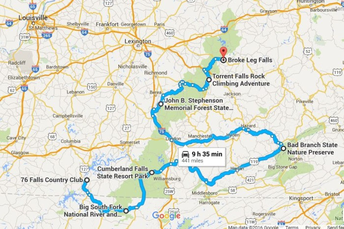 The Ultimate Kentucky Waterfall Road Trip