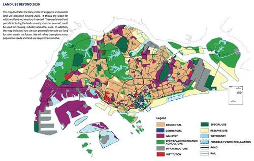 Land Use Beyond 2030 Plan for Singapore