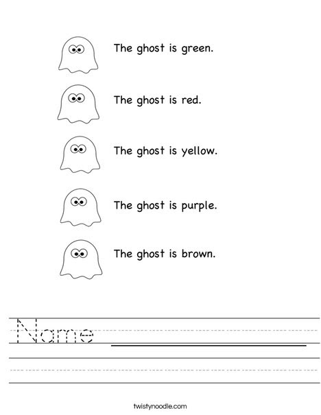 Name _____________ Worksheet - Twisty Noodle