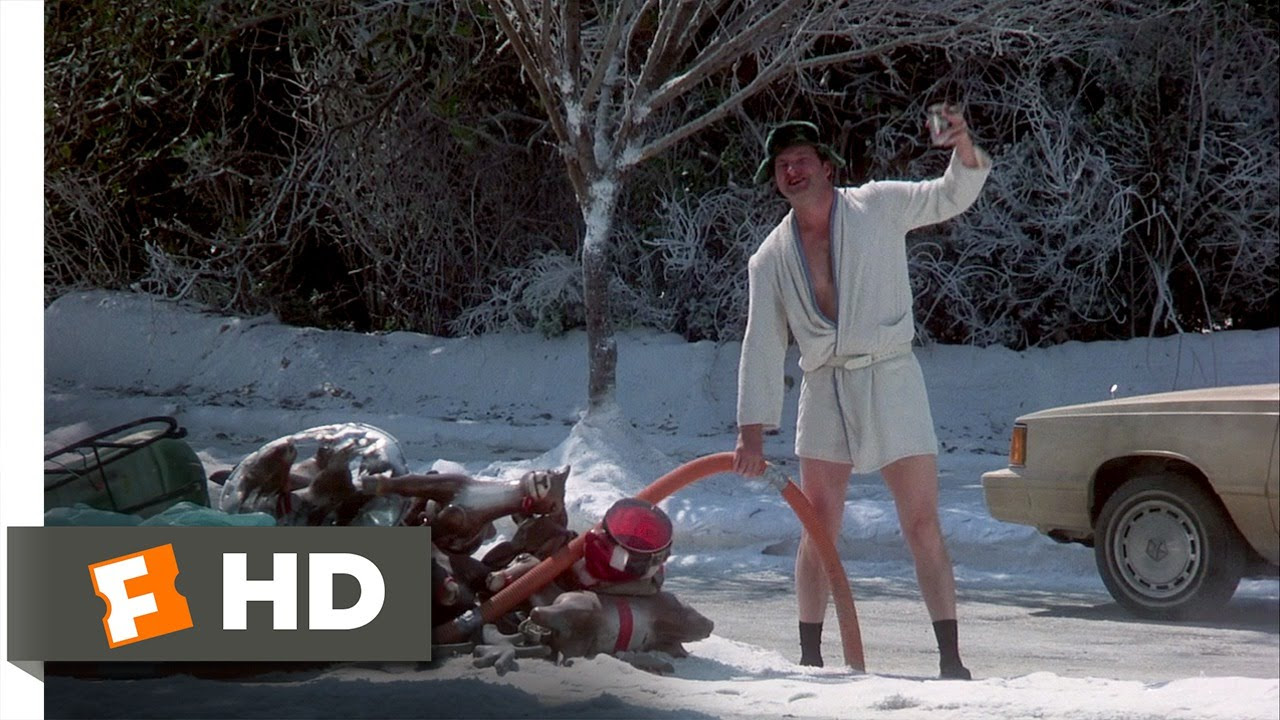 Christmas Vacation (7/10) Movie CLIP - Eddie's Sewage ...