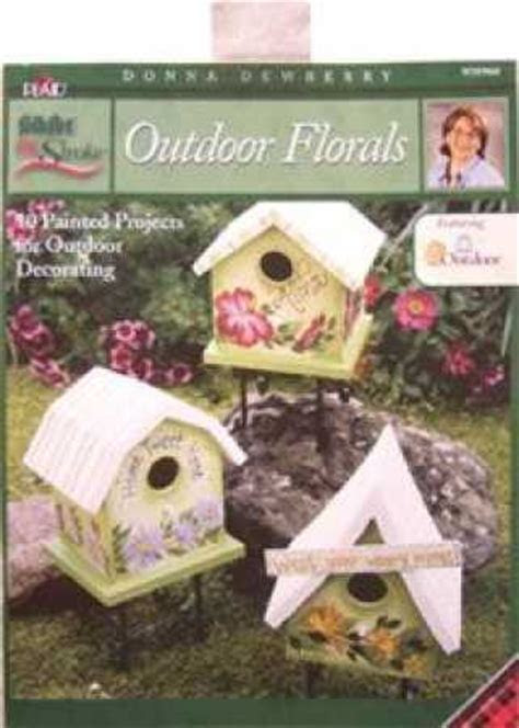 One Stroke Outdoor Floral, Donna Dewberry Painting Book