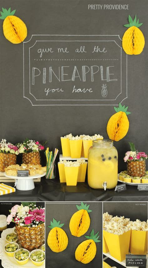 This Pineapple Party Is Colorful and Fun ? Party Ideas
