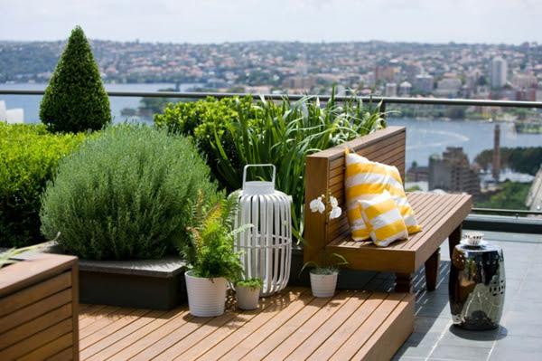 Ideen für erstaunliche Dachterrasse stadt city