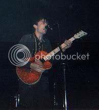 guitarist for Franz Ferdinand @ Kool Haus, 14/June/04: photo by Mike Ligon