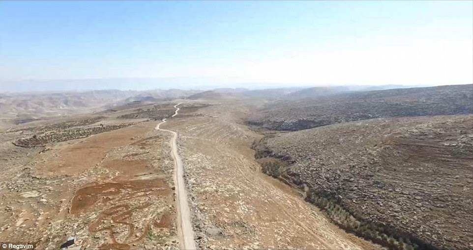 Highway: A road through the West Bank which, according to Regavim, was constructed without permits using money from the EU